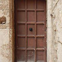 old door brown 1