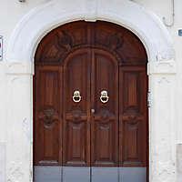 old ornate door