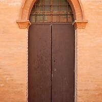 old scraped wood door 2