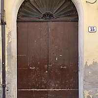 old scraped wood door 4