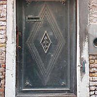 ornate wood door from venice 12