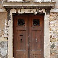 wooden door from venice 5