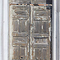 very ruined wood door 10