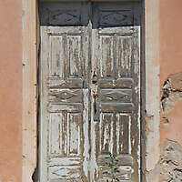very ruined wood door 9