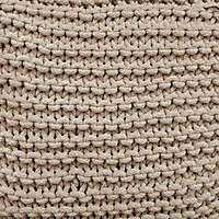 Knots and Knits fabric brown
