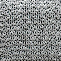 Knots and Knits fabric grey