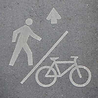 bike lane way