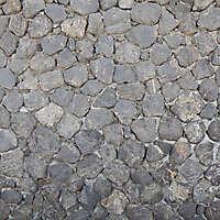 medieval black stones floor 1