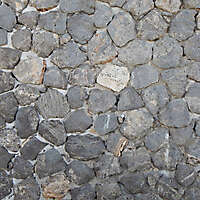 medieval black stones floor 2