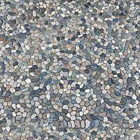 Round Clean Cobblestone