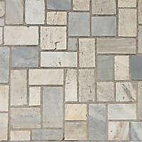 irregular tiles various colors