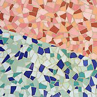 modern bar marble mosaic