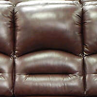 brown leather backrest pillow 2