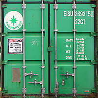 container doors green