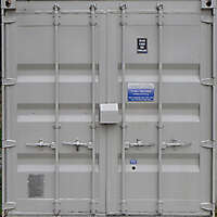 container doors white