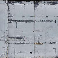 scrape paint on metal door 2