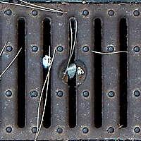 Rusty manhole Seamless