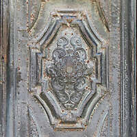 bronze door decoration