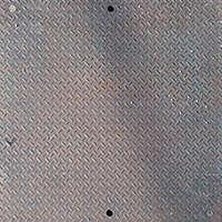 diamond plate metal panel