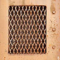 rusty radiator intake