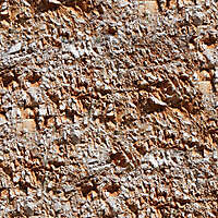 red rock surface with relief seamless 5