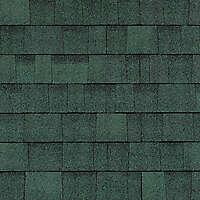 roof bitumen shingles green