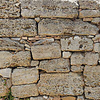 medieval rough stone blocks from athen 10