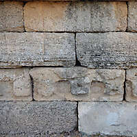 medieval rough stone blocks from athen 11