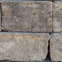 medieval crude stone blocks from athen 2