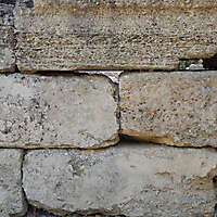 medieval crude stone blocks from athen 5