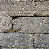 medieval rough stone blocks from athen 7