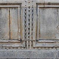 decorated stone panel 1