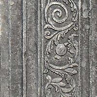 decorated stone panel 3