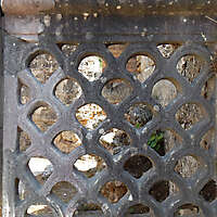 decorated stone panel with holes 2