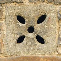little stone window