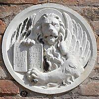 medieval stone emblem venice 2