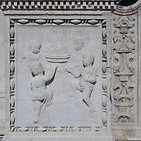 medieval stone ornament venice 25