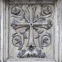 old stone emblem from florence 13