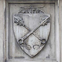 old stone emblem from florence 15