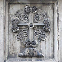 old stone emblem from florence 17