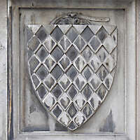 old stone emblem from florence 18