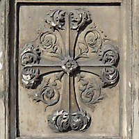 old stone emblem from florence 26