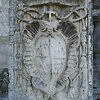 stone column emblem