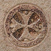 stone cross ornament 71