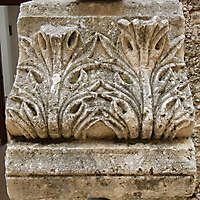 stone leaf ornament 17