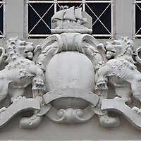 stone lions emblem