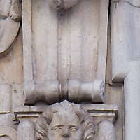 stone ornaments with faces 33