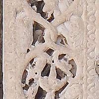 vertical stone ornament 34