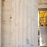 greek pillar white stone 2