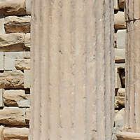 greek pillar white stone 3